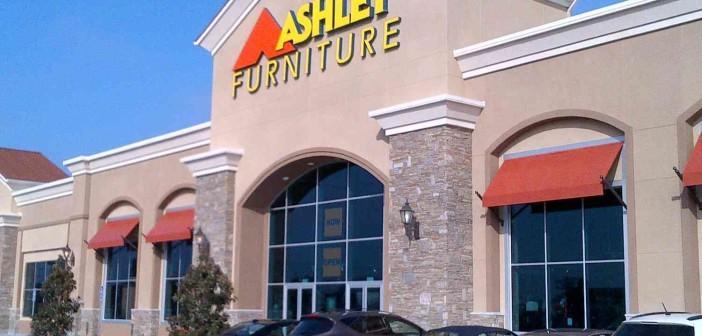 10 mueblerías suma Ashley en México; 745 en el mundo.
