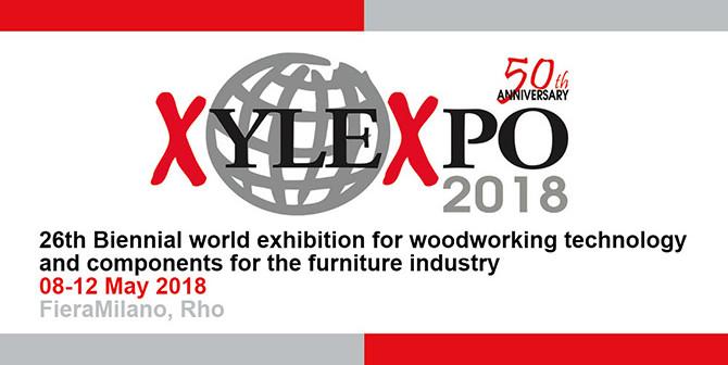 Xylexpo, la feria italiana para maquinaria e insumos para muebles