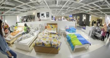 Kuala Lumpur, Malaysia – September 24th,  2017: Ikea store interior in Kuala Lumpur, Malaysia. Interior view of furniture room inside IKEA store. IKEA is the world's largest furniture retailer.