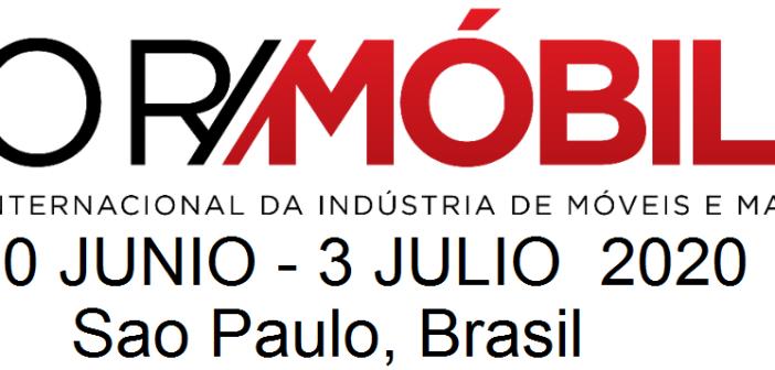 ForMóbile, la feria líder de maquinaria y proveeduría de Brasil; 30 Jun – 3 Jul 2020