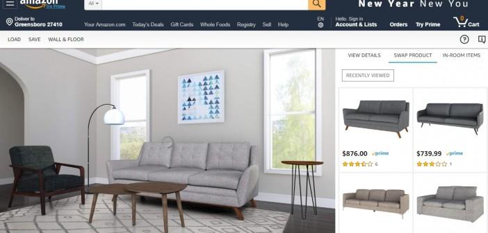 """""""Showroom"""" de Amazon nueva estrategia para la venta de muebles 'online'"""