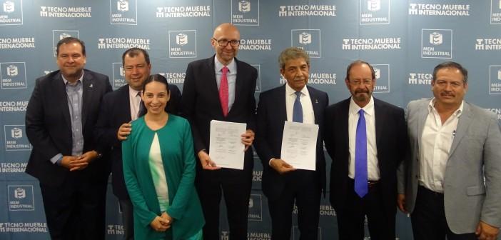 Hannover Fairs México y AFAMJAL firman convenio de Alianza MEM Industrial – Tecno Mueble Internaciona