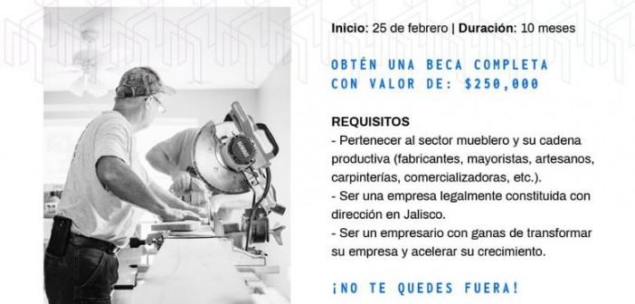 Convocan a Mueble Next para apoyar la industria mueblera en Jalisco